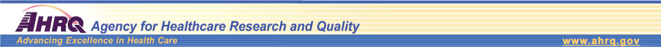 AHRQ--Agency for Healthcare Research and Quality: Advancing Excellence in Health Care http://www.ahrq.gov